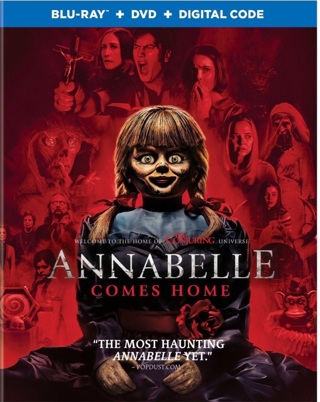 Annabelle Comes Home digital code from Blu Ray