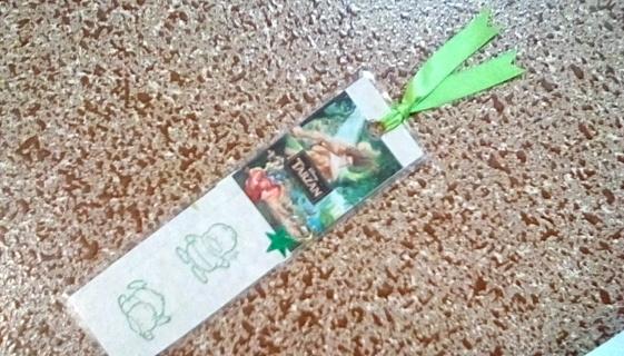 Handmade Tarzan Bookmark