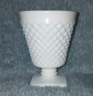 Collectible Milk Glass Vase/Cup/Holder