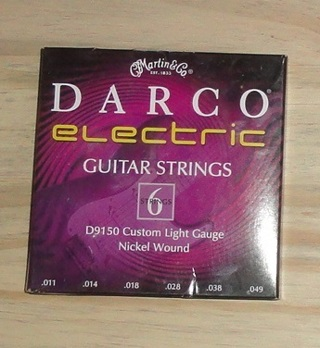 (NIB) Darco Electric Guitar Strings