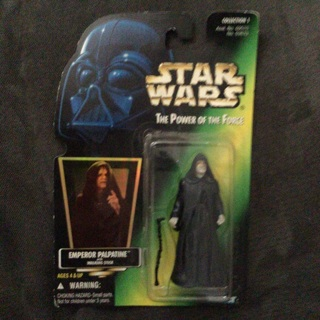 Star Wars 1997 action figure TPOTF Emperor Palpatine