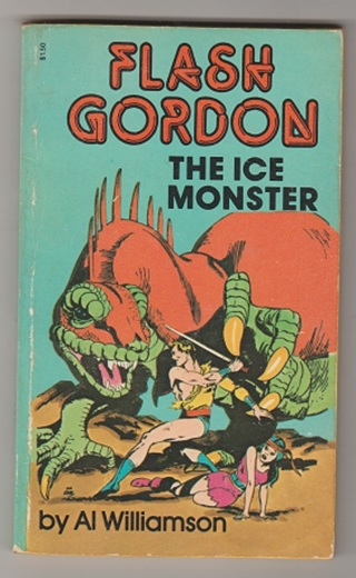 Flash Gordon The Ice Monster by Al WIlliamson 1968 comic book VF Paperback