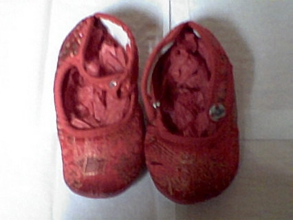 BABY SILK SLIPPERS! BN! SIZE6, LOWERED GIN++