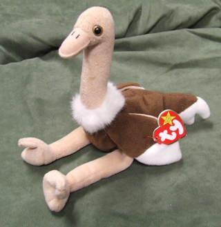 71398207ee9 Free  TY Beanie Babies Stretch the Ostrich - Dolls   Stuffed Animals ...