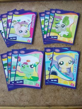 2009 Littlest Pet Shop Cards