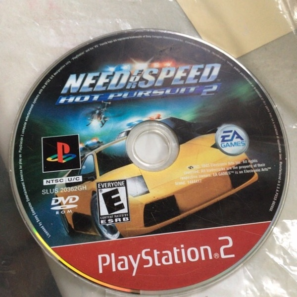 Free Need For Speed Hot Pursuit 2 Playstation 2 Disc