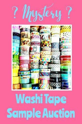 Washi Tape Auction