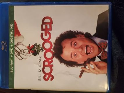 Bill Murray is Scrooged