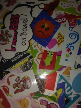 20 random stickers