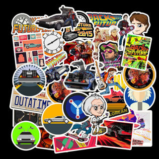[GIN FOR FREE SHIPPING] 50Pcs Halloween Skateboard Stickers