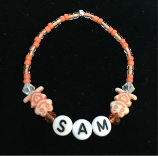 Personalized Baby Girl or Boy Name Bracelet NB - 2yrs READ DESCRIPTION