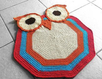 Free Crochet Owl Rug Pattern Listia Com