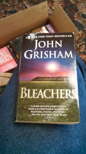 bleachers john grisham Play bleachers audiobook in just minutes using our free mobile apps, or download and listen directly on your computer or laptop.