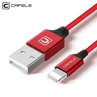 CAFELE Mobile Phone Cables for iphone X 8 7 6 6S Plus USB Cable Charging Data Sync Charging Cable