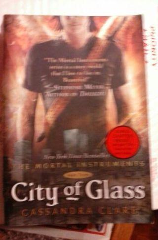 Cassandra Clare The City Of Glass