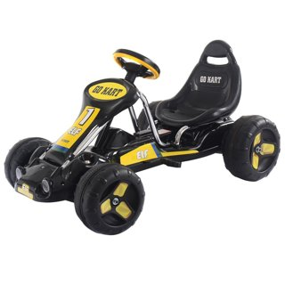1 Costzon Go-Kart 4 Wheel Kids Ride on Car Stealth Pedal Powered Outdoor Racer Winner COLOR OPTIONS!