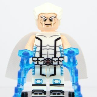 New Magneto Minifigure Building Toy Custom Lego