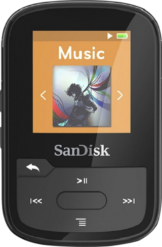 SanDisk - Clip Sport Plus 16GB* MP3 Player - Black