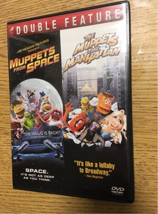 The Muppets Double Feature ~ DVD ~ Mint!