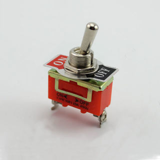 2PCs Panel Mounted 2 Pin On/Off SPST Latching Toggle Switch AC 250V 15A Auto Parts