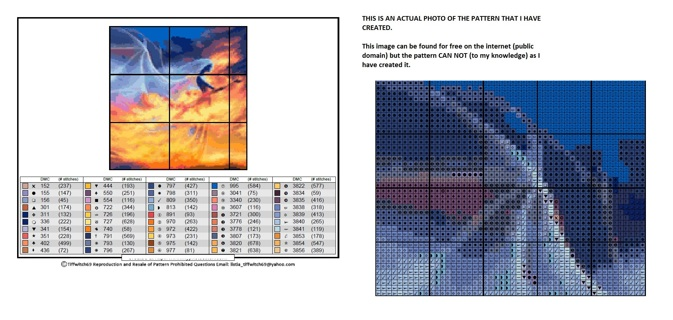 Succubus of Flames Cross Stitch Pattern ***Winners Choice***