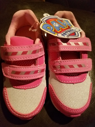 NWT!! Very Cute Girls Paw Patrol (Sky & Everest) Shoes Size 7