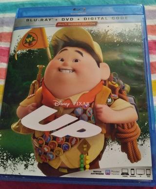⭐☃☃❄❄ Disney Pixar's UP Blu-Ray 2 Discs Brand New Case & Artwork ☃☃❄❄⭐