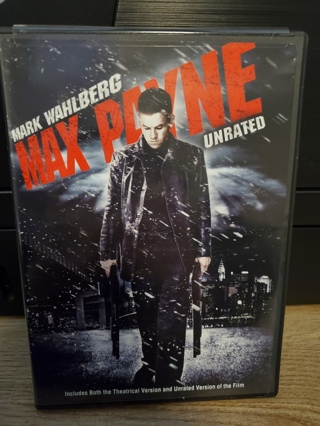 """DVD - """"Max Payne"""" - rated PG-13"""