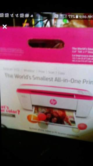 HP PRINTER WORLD smallest ALL-IN-ONE PRINTER