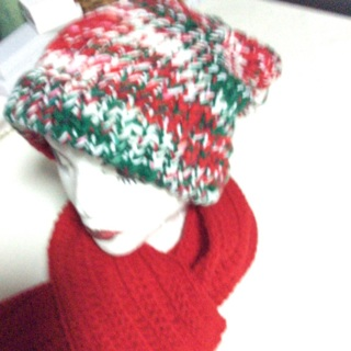 """Hand Crochet Slouchy and an Extra Long Scarf. 82"""" X 7"""""""