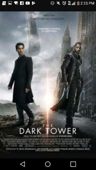 The Dark Tower HD Vudu UltraViolet movie