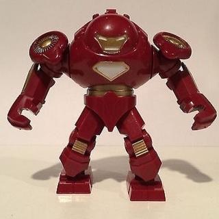 New Big Hulk Buster Minifigure Building Toy Custom Lego