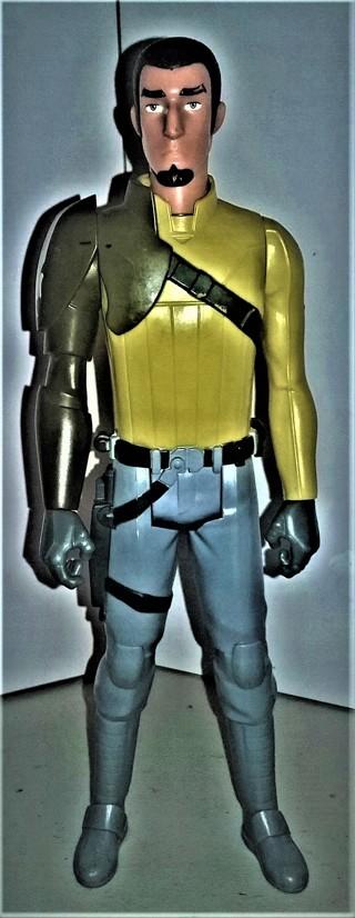 "2014 LFL Star Wars 11 1/2"" KANAN JARRUS action figure"