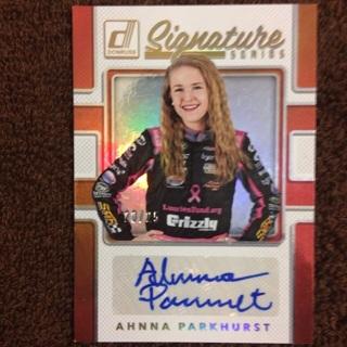 (Racer) Ahnna Parkhurst 20/25