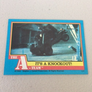 1983 Topps The A-Team - [Base] #51 It's A Knockout!