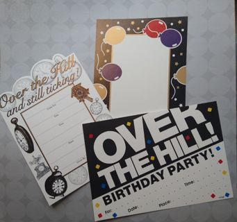 3 Over The Hill Cards for Scrapbooking