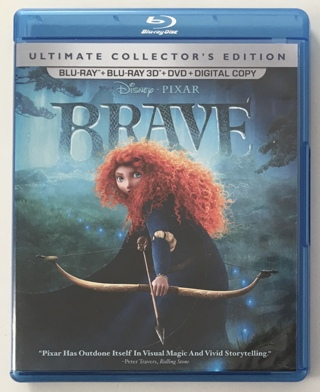 Disney Pixar Brave Ultimate Collector's Edition: 5-Disc Blu-ray 3D / Blu-ray / DVD Movie