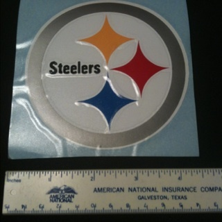 Pittsburgh Steelers Decal Sticker