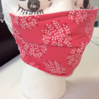 Face Mask, With Nose Wire and Elastic Cord.