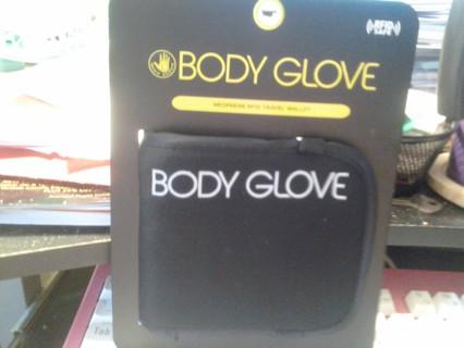 Body Glove Neoprene RFID Travel Wallet BNIP