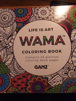 Life is Art Adult Coloring Book