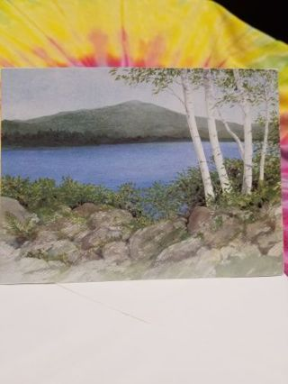SCENIC BIRTHDAY CARD W/ ENVELOPE
