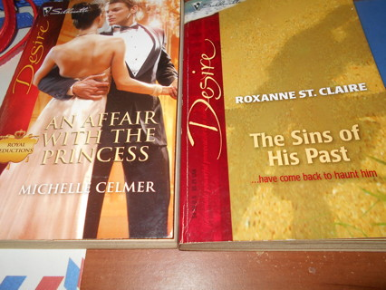 2 Silhouette Desire Paperback Books