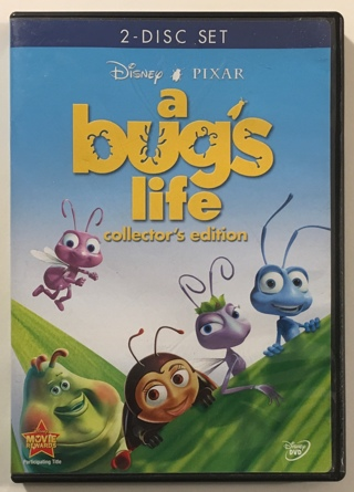 Disney Pixar A Bug's Life 2-Disc Collector's Edition DVD Movie - NM to Mint Discs!