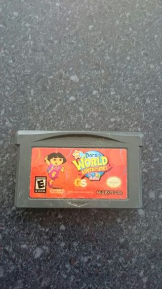 Dora the Explorer Gameboy Advanced SP Game