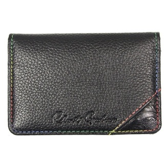 ROBERT GRAHAM Men's Black Bond Card Case $59.50 RETAIL