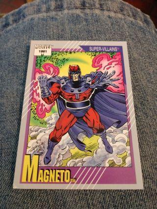 Marvel card - Magneto