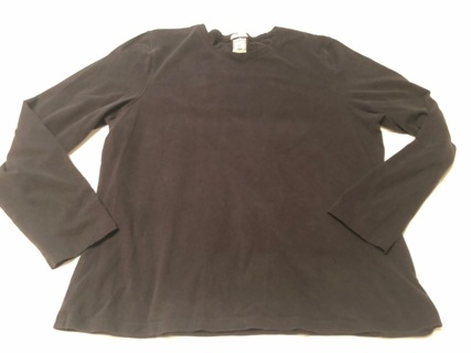 Women's Black Top Size XXL Made By Old Navy