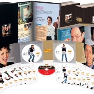 Seinfeld The Entire Series w/ coffee table book