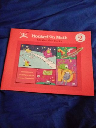 New Book Hooked on Math Level 2